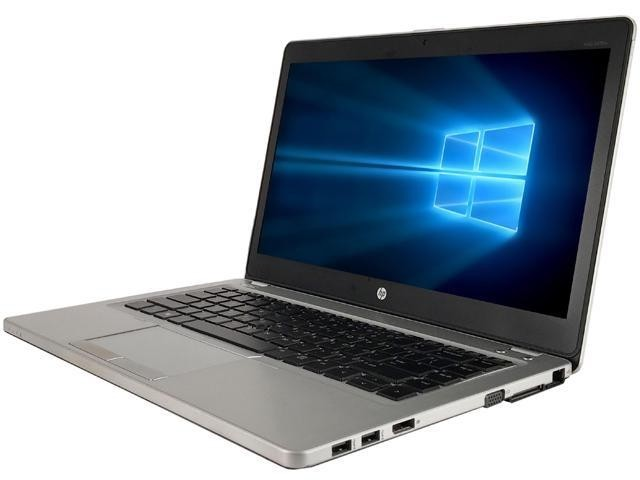 Refurbished laptops & desktops - Refurbished HP Elitebook Folio 9480M (Core I5 4TH Gen/4GB/500GB/Webcam/14''/Win-10 Pro)