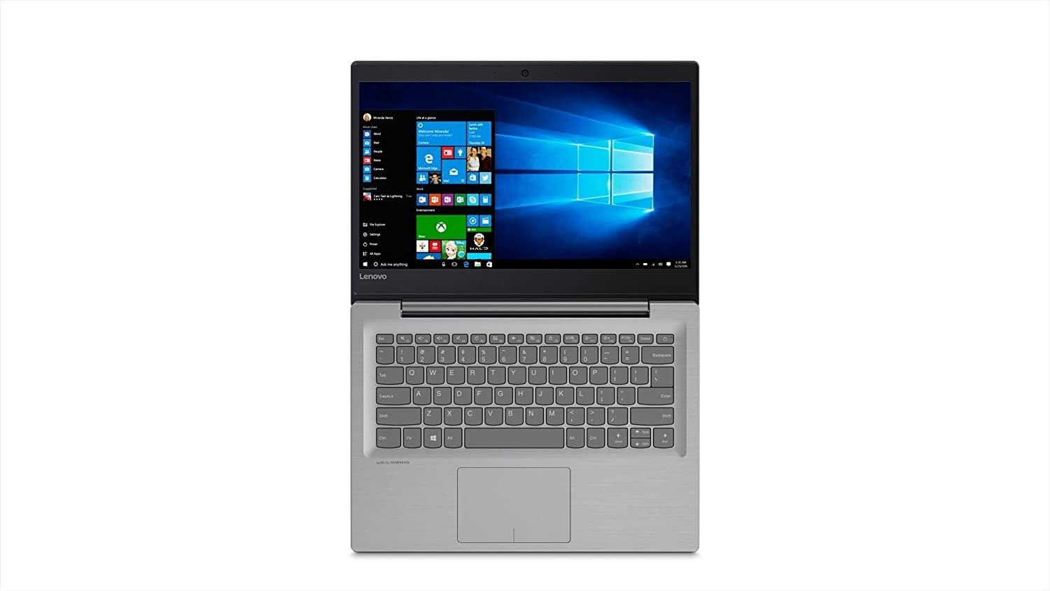 Refurbished laptops & desktops - Lenovo IdeaPad 520S-14IKB 80X200EPIN 14-inch Laptop (7TH Gen Core i5-7200U/8GB/1TB+128GB SSD/Windows 10/Integrated Graphics), Mineral Grey