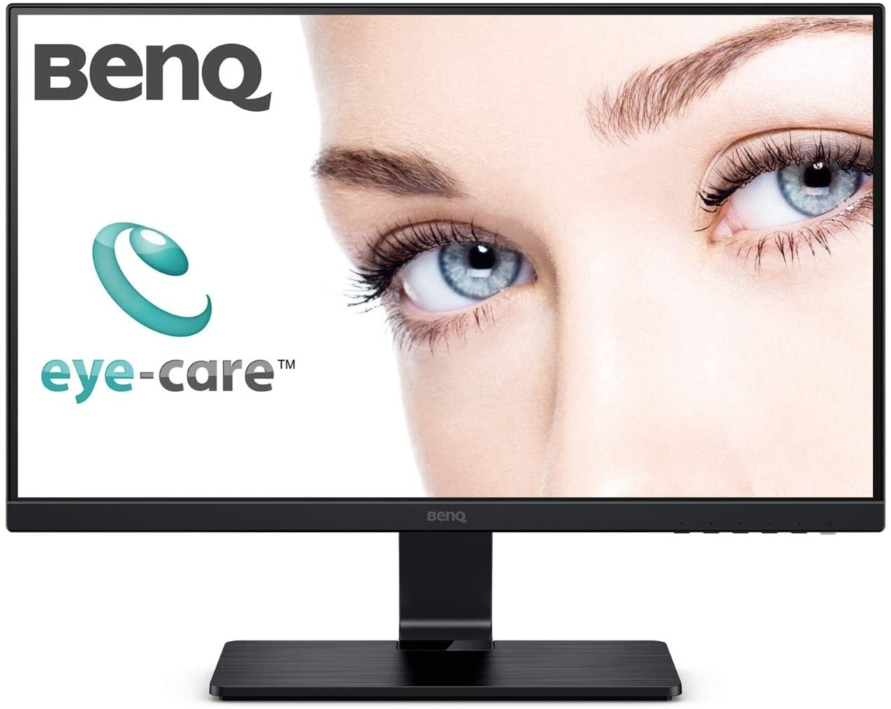 Refurbished laptops & desktops - BenQ GW2475H 24 Inch (60.45 cm) IPS Eye-Care Full HD 1080P Monitor, Flicker-Free, Low Blue Light, Dual HDMI, Edge-to-Edge Slim Bezel, VESA Wall Mountable