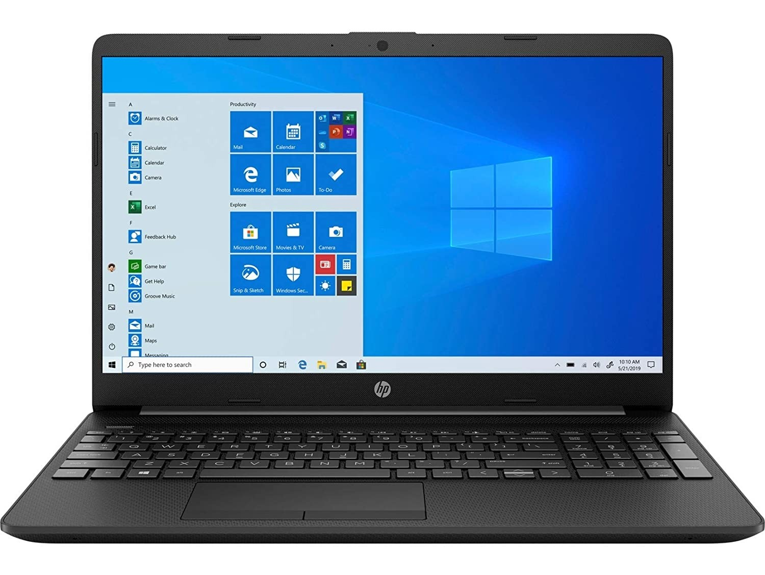 Refurbished laptops & desktops - HP 15 Thin & Light 15.6-inch FHD Laptop (Ryzen 5 3450U/8GB/1TB HDD/Vega 8 Graphics/Windows 10 Home/Jet Black/1.76kg), 15s-gr0010au