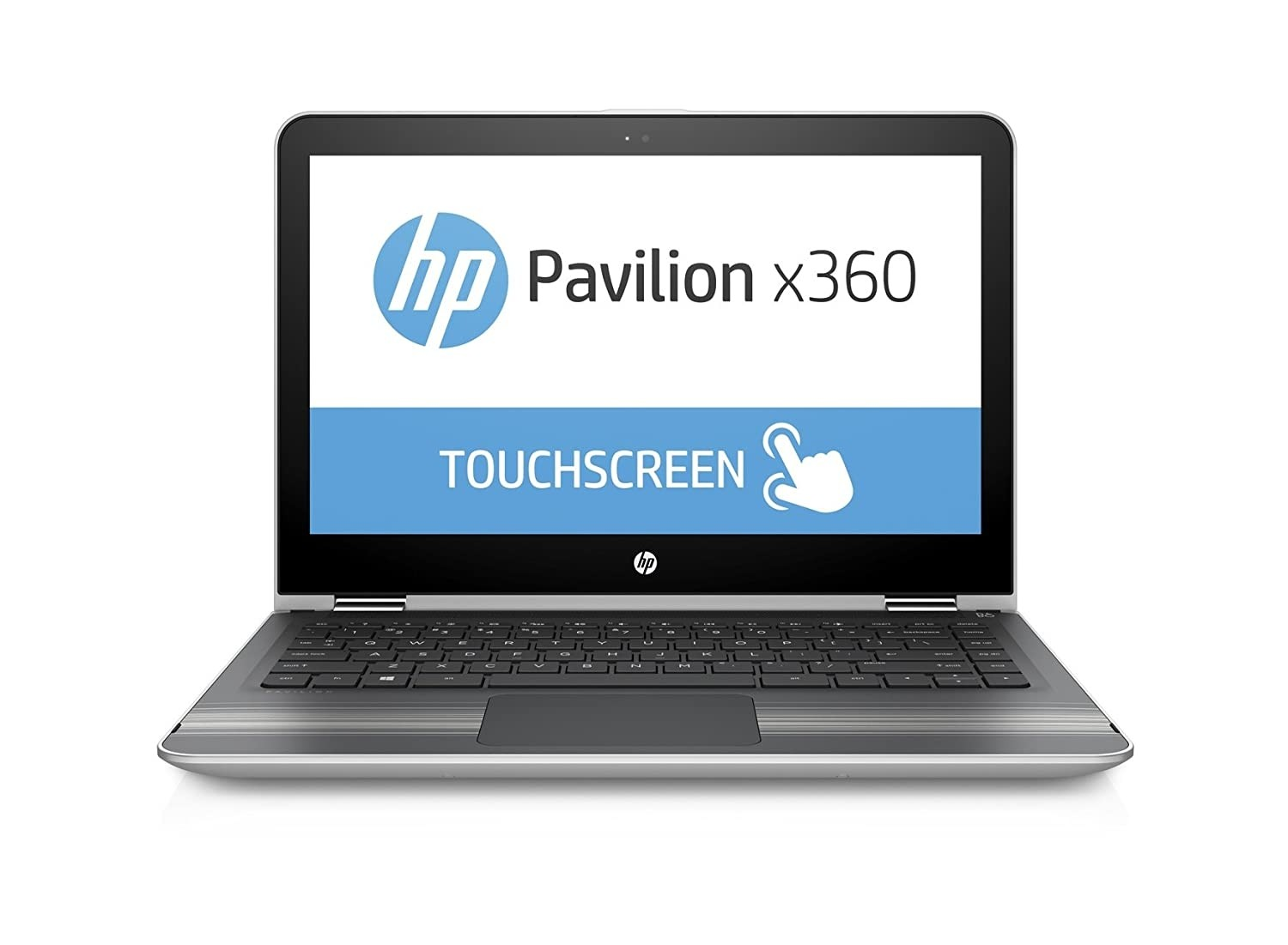 Refurbished laptops & desktops - HP Pavilion 13-U133Tu X360 13.3-Inch Laptop (7TH Gen Core I5-7200U/8GB/1TB/Windows 10 Home/Integrated Graphics), Natural Silver, Part No. Z4Q51PAR