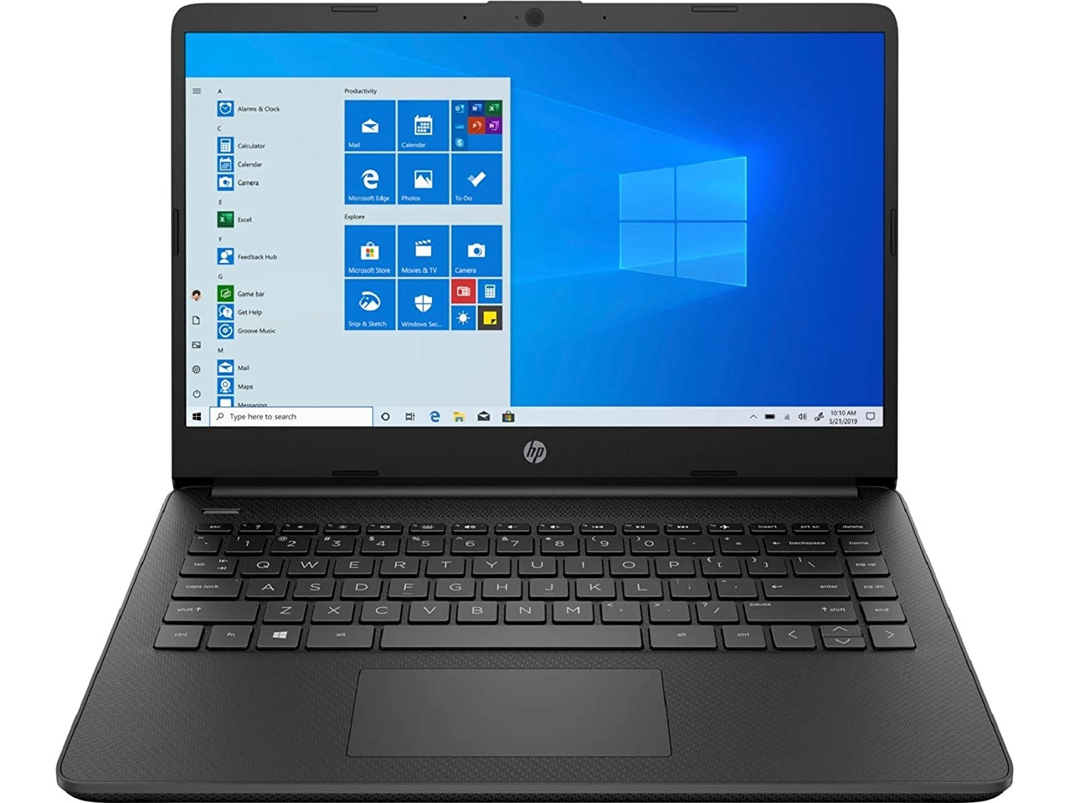 Refurbished laptops & desktops - HP 14 Ultra Thin and Light Laptop (10th Gen i5-1035G1/8GB/512GB SSD/Windows 10 Home), 14s-dq1090tu