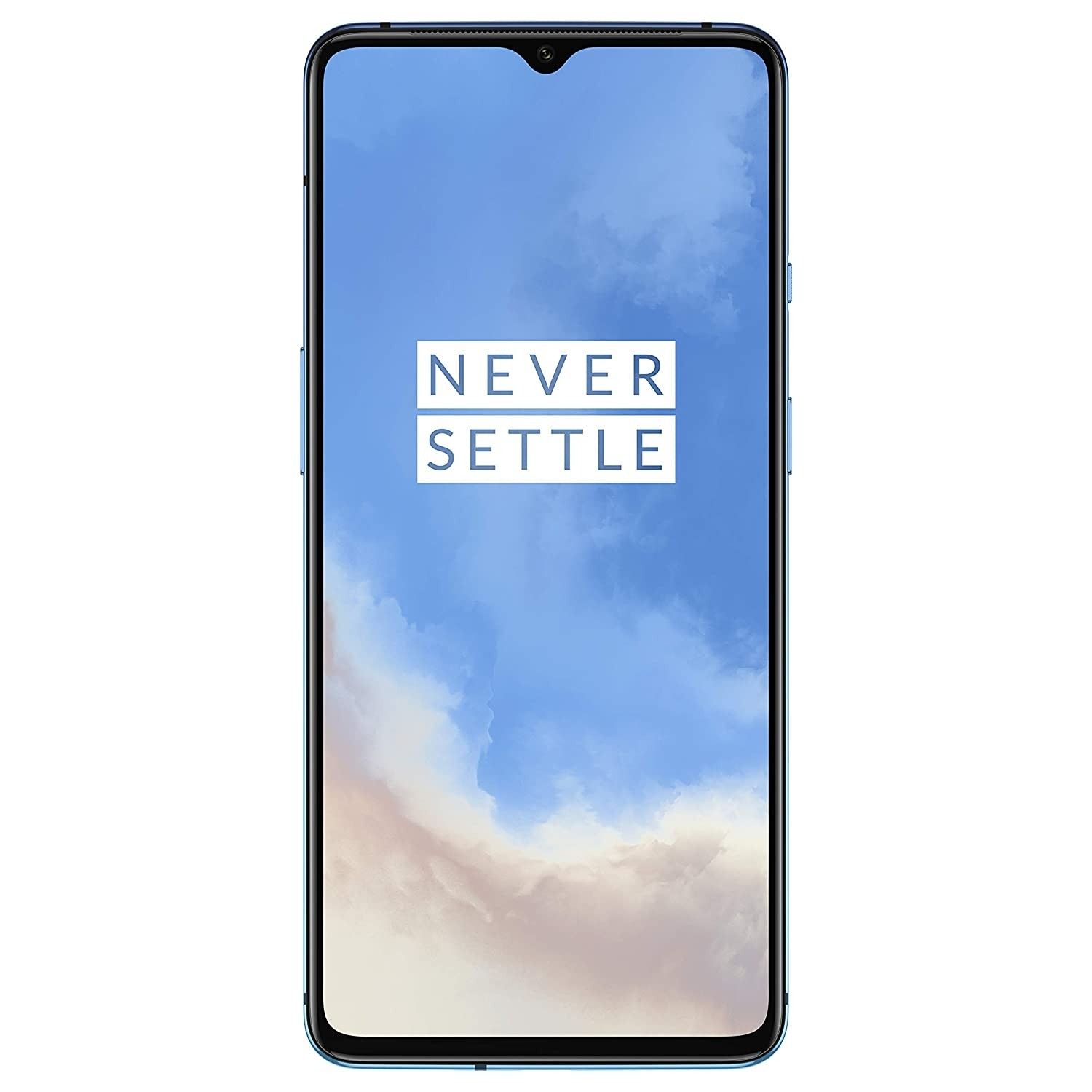 Refurbished laptops & desktops - OnePlus 7T (Glacier Blue, 8GB RAM, 256GB Storage)
