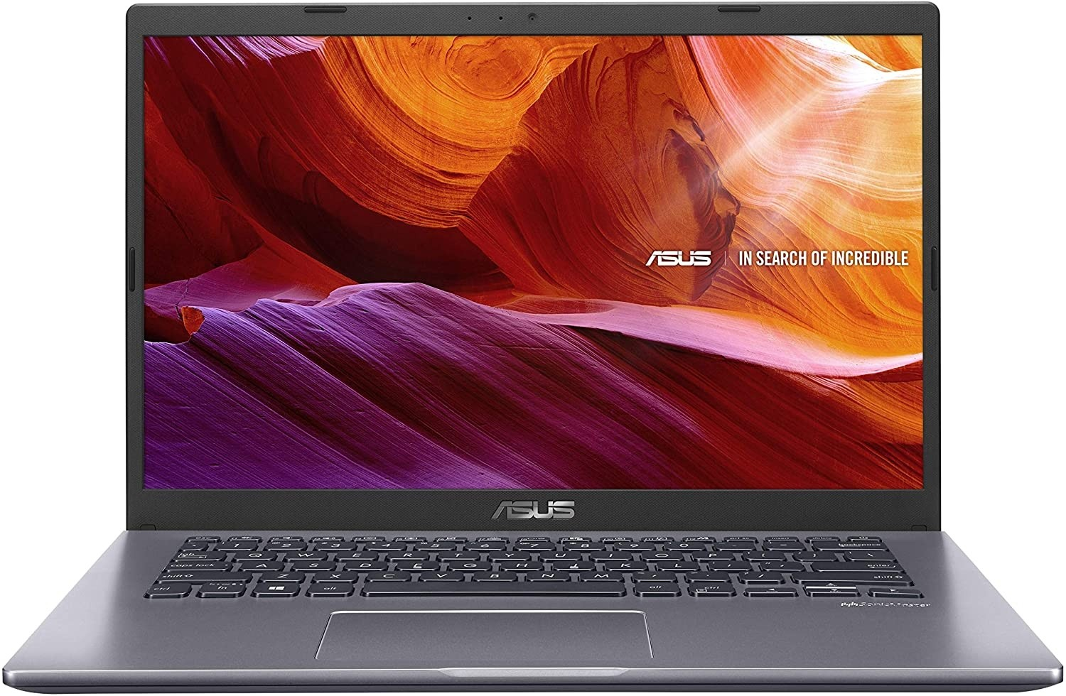 Refurbished laptops & desktops - ASUS VIVOBOOK 14 M409DA-EK456T AMD DUAL CORE ATHLON SILVER-3050U 14-INCH FHD COMPACT AND LIGHT LAPTOP (8GB RAM/256GB NVME SSD/WINDOWS 10/INTEGRATED GRAPHICS/FP READER/1.60 KG), SLATE GREY