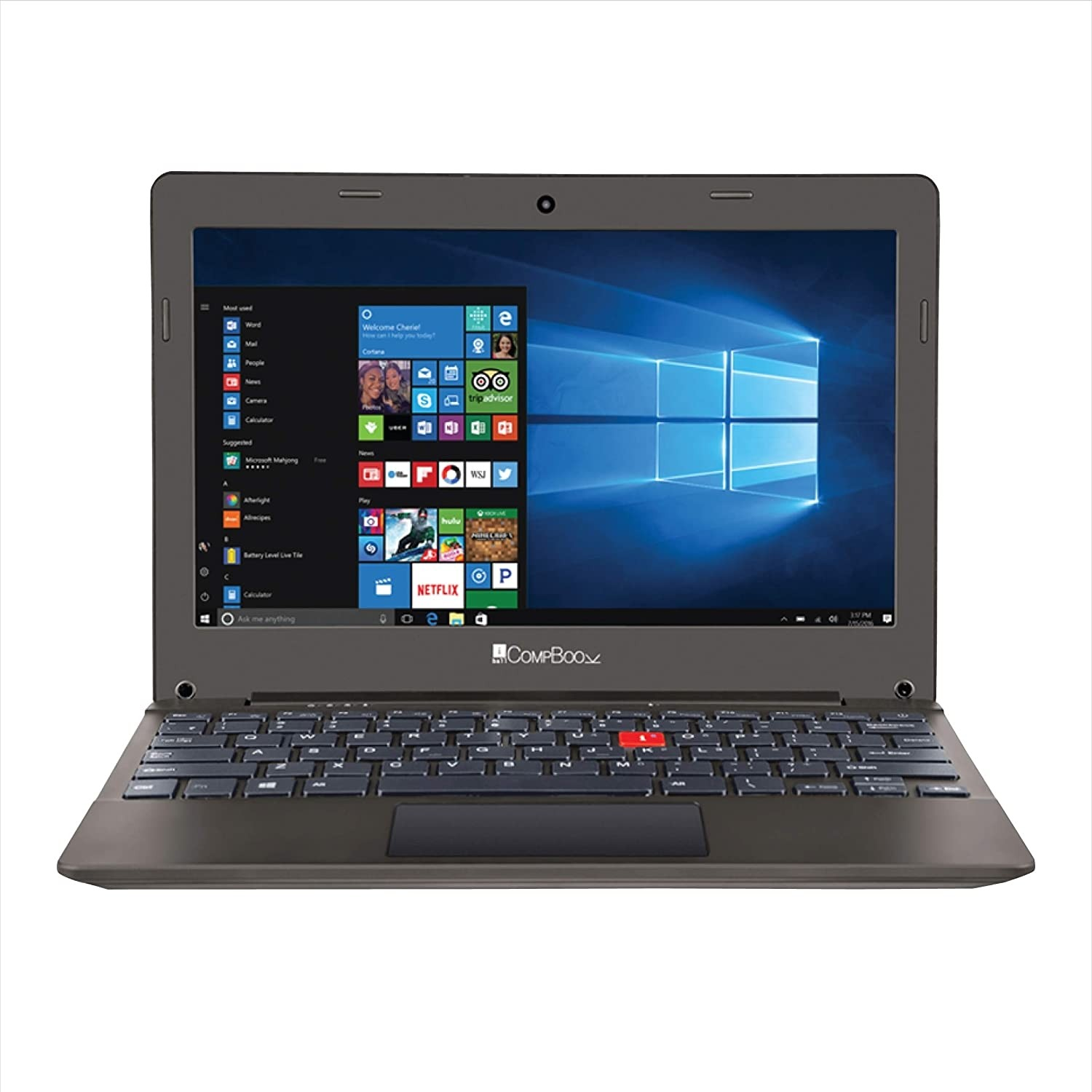 Refurbished laptops & desktops - IBall Excelance OHD IPS Screen With 11.6-Inch FHD Display Laptop (8TH Gen Intel Atom X5-Z8350/2GB DDR3/32GB/Windows 10/Integrated Graphics) Chocolate Brown