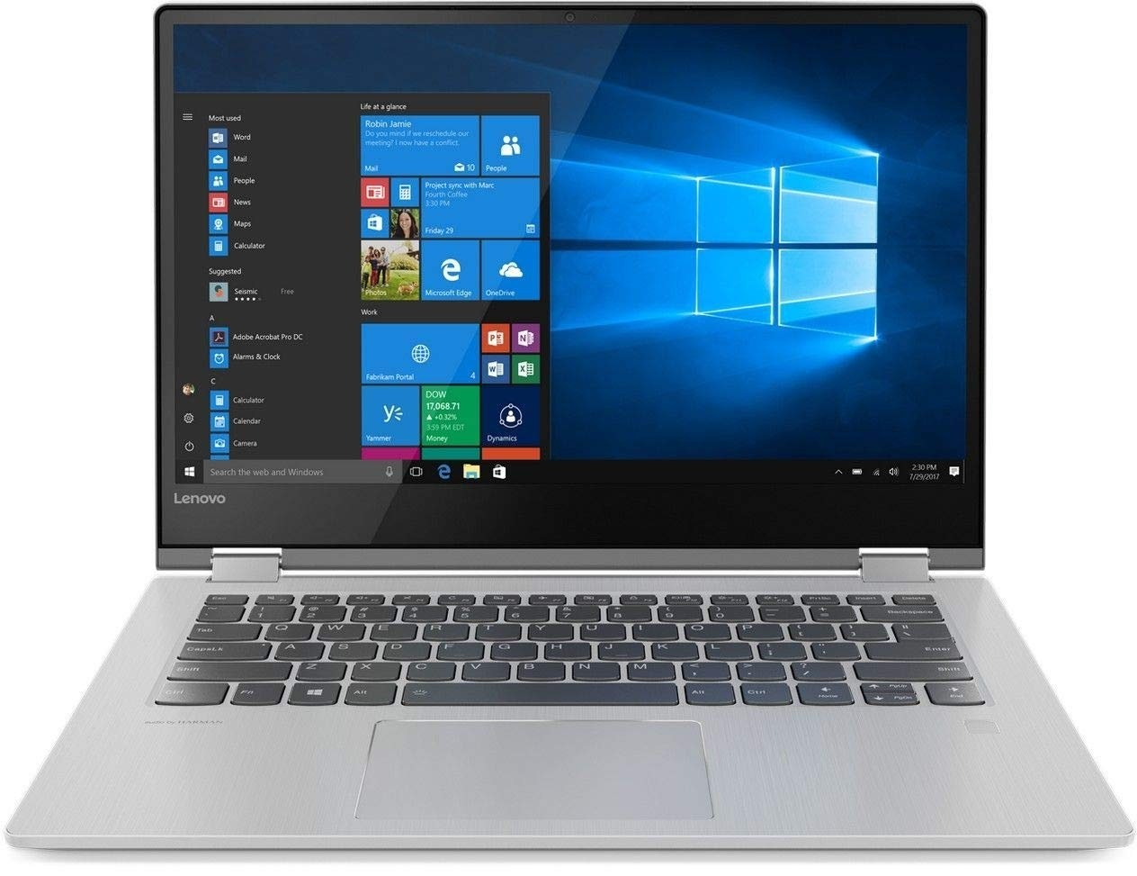 Refurbished laptops & desktops - Refurbished Lenovo Yoga 530-14IKB D 81EK00ACIN/Intel Ci5-8250U 1.6Ghz/8GB/512GB SSD/2GB Nvidia Graphics/Win 10 Home/14 Inch FHD Non-Touch/Minerial Grey