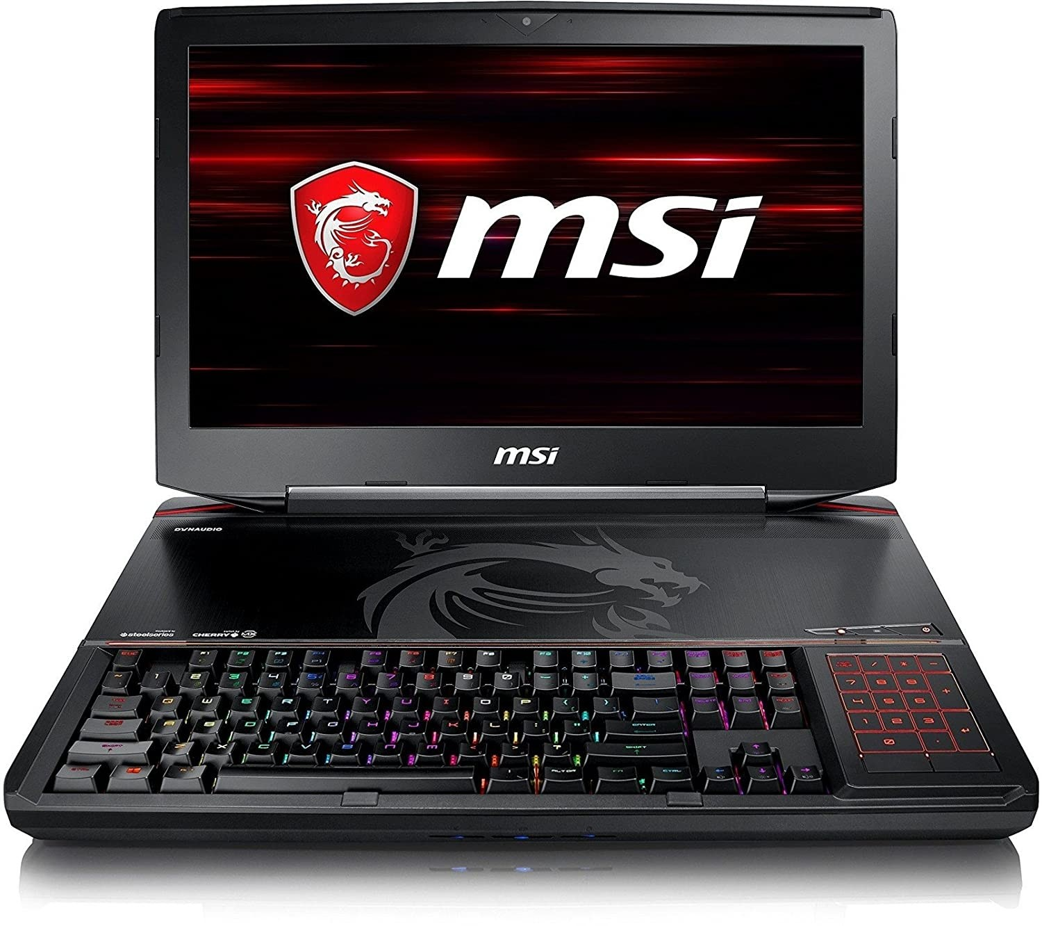 Refurbished laptops & desktops - MSI Gaming MSI GT83 8RG-007IN 2018 18.4-inch Laptop (8th Gen Core i7-8850H/32GB/1TB/512GB SSD/Windows 10/8GB Graphics), Black