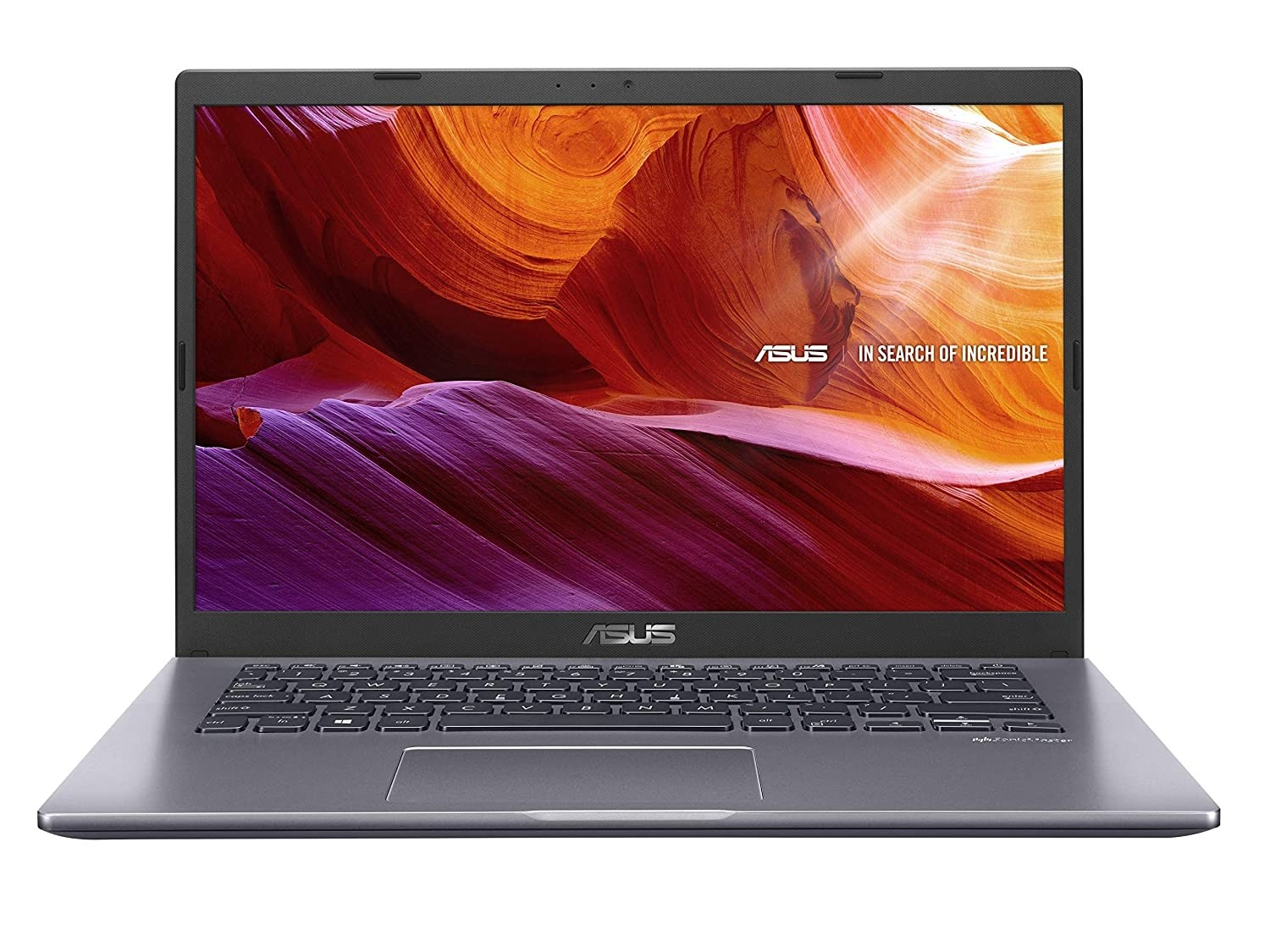 Refurbished laptops & desktops - Asus Vivobook 14 X409Fa-Ek342T Intel Core I3 8TH Gen 14-Inch FHD Compact And Light Laptop (4GB Ram/1TB HDD/Windows 10/Integrated Graphics/FP Reader/1.60 Kg), Slate Grey