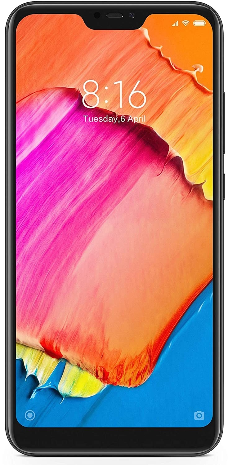 Refurbished laptops & desktops - REDMI 6 PRO (BLACK, 4GB RAM, 64GB STORAGE) (NO ACCESSORIES)