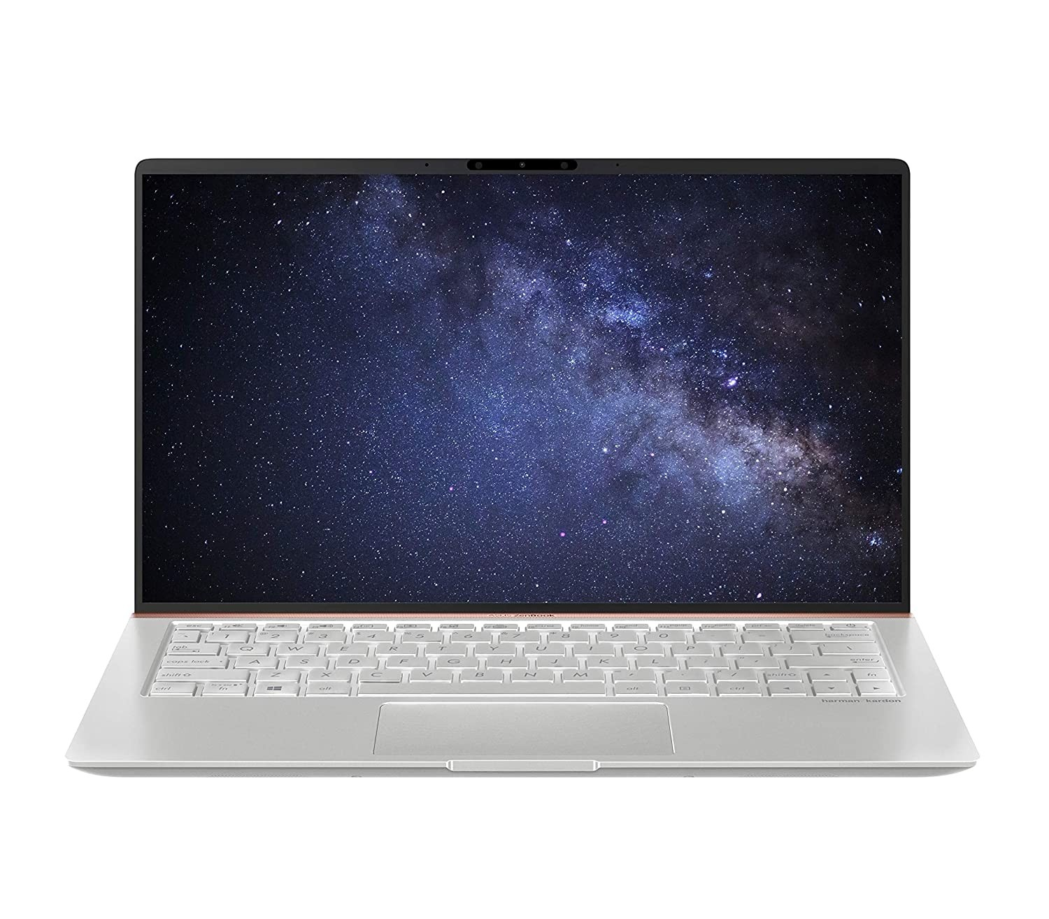 Refurbished laptops & desktops - Asus Zenbook 14 Ux433Fa-A6106T 14-Inch FHD Thin And Light Laptop (8TH Gen Intel Core I5-8265U/8GB RAM/512GB PCIE SSD/Windows 10/Integrated Graphics/1.19 Kg), Icicle Silver Metal