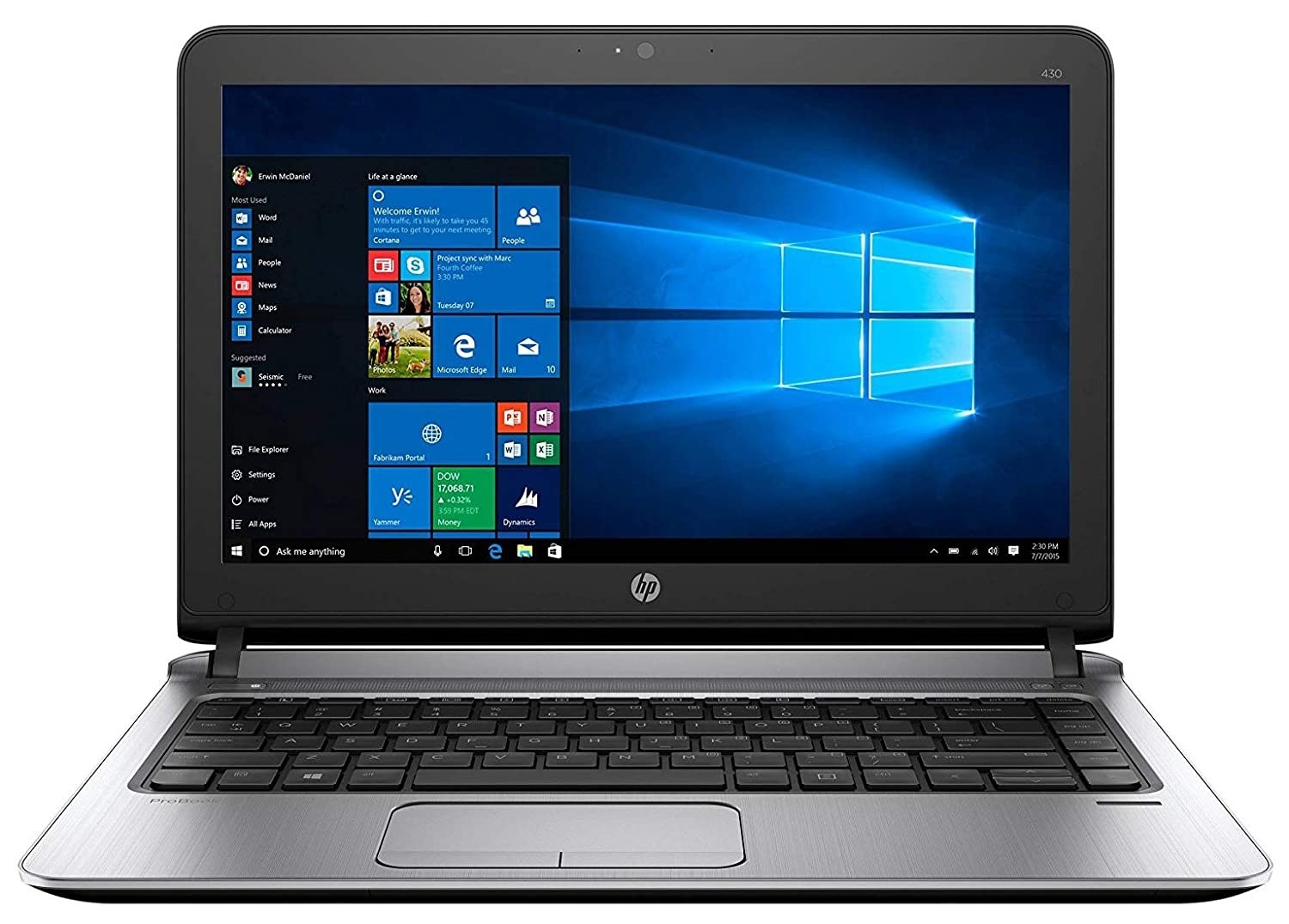 Refurbished laptops & desktops - Refurbished HP Probook 430 G3 (Core I5 6TH Gen/8GB/500GB/Webcam/13.3''/Win-10 Pro)