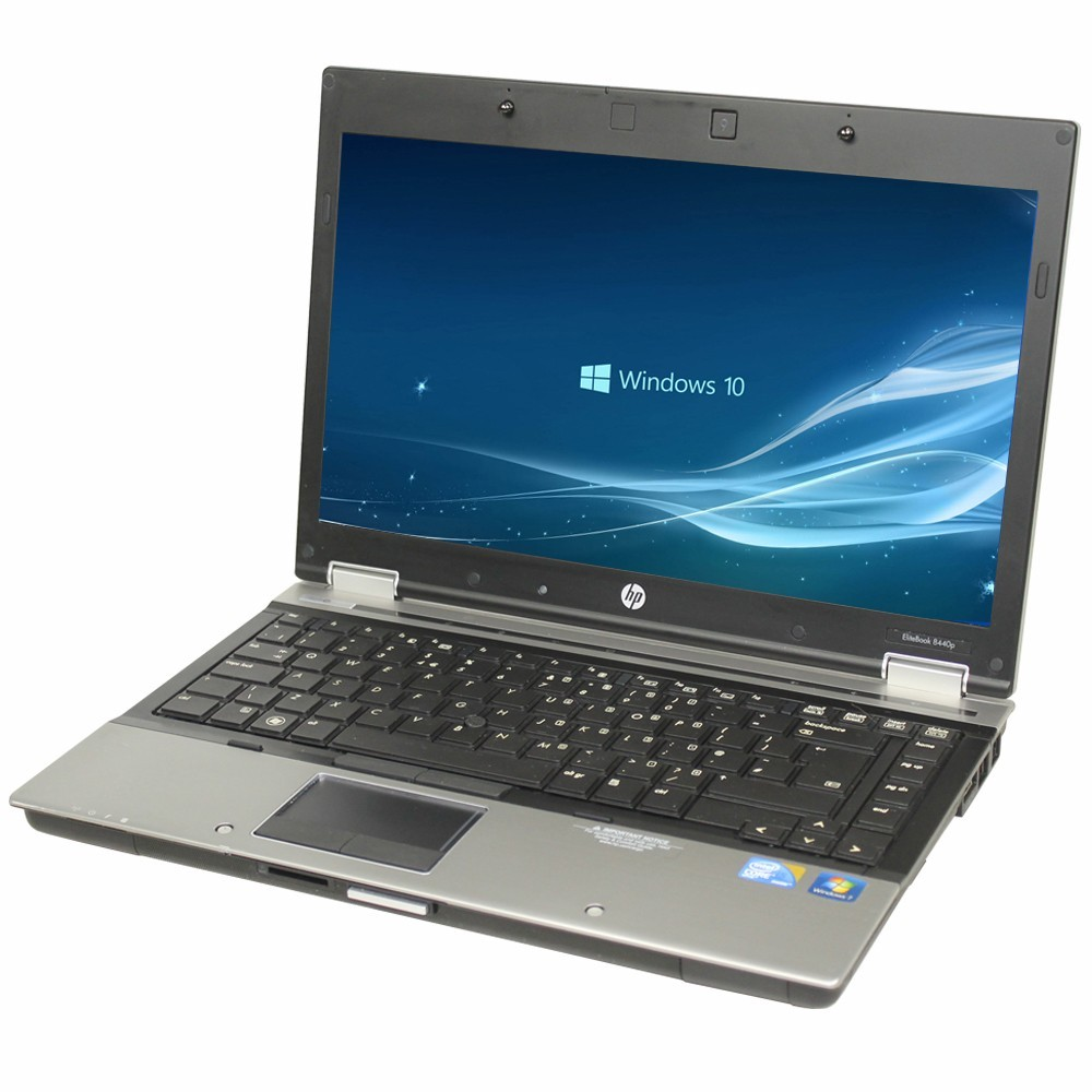 HP ELITEBOOK 8440P (CORE I5 1ST GEN/4GB/250GB/512MB GRAPHICS/WEBCAM/14''/WIN-10 HOME)