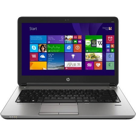 Refurbished laptops & desktops - Refurbished HP Probook 640 G1 (Core I5 4TH Gen/8GB/320GB/Webcam/14''/Win-10 Pro)