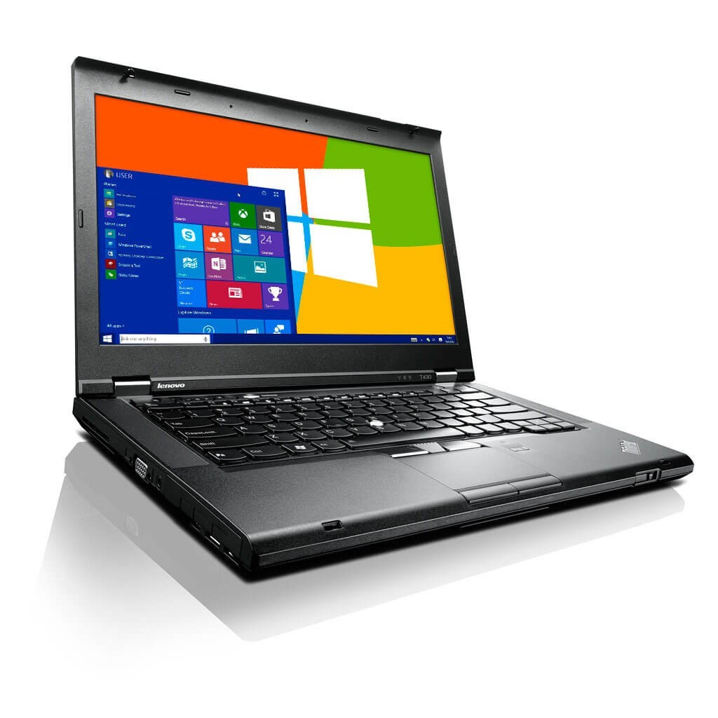 LENOVO THINKPAD T430 (CORE I5 3RD GEN/4GB/160GB SSD/1GB GRAPHICS/WEBCAM/9 CELL BATTERY/14''/WIN-10 HOME)