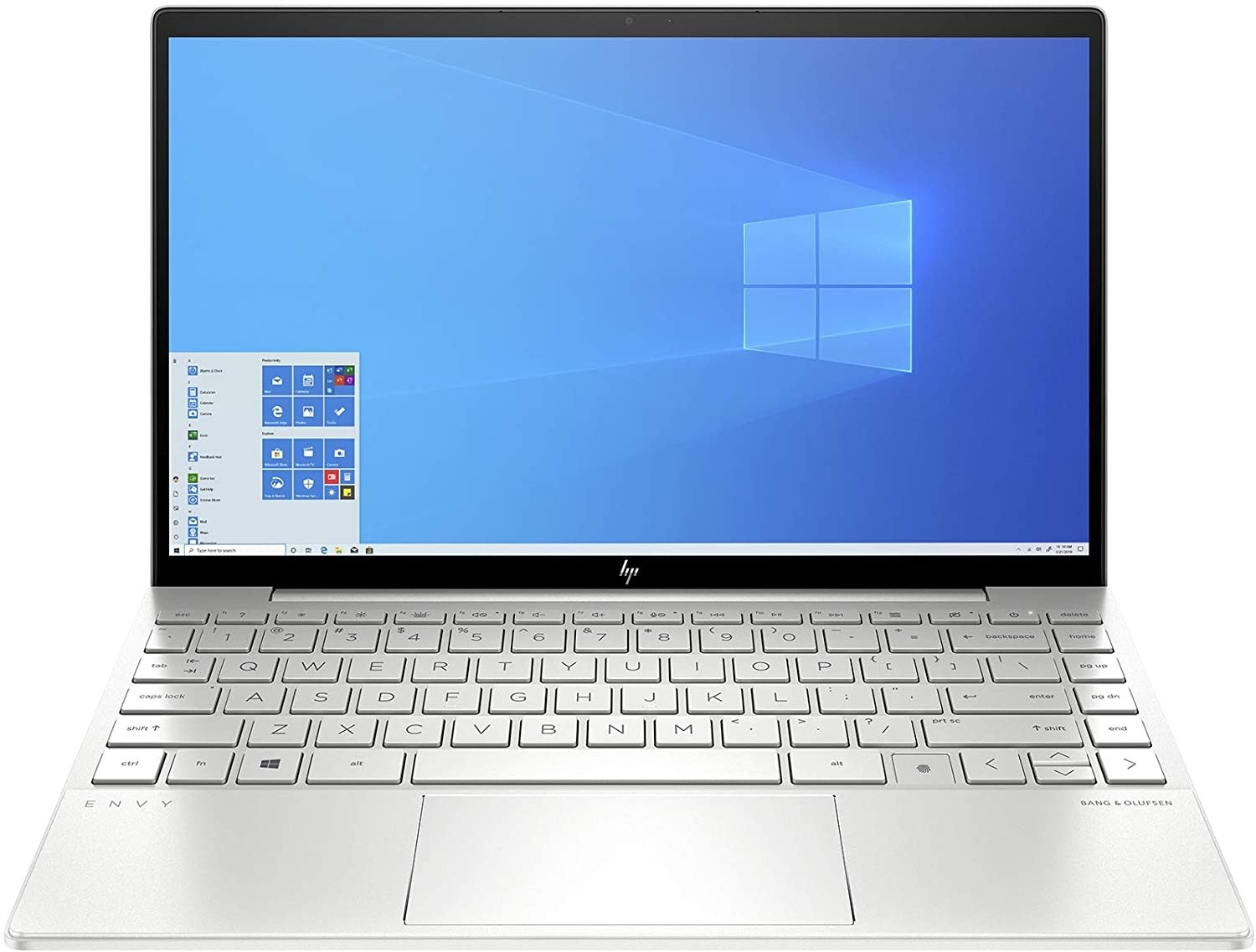 Refurbished laptops & desktops - HP ENVY 13-BA0003TU 13.3-INCH LAPTOP (10TH GEN I5-,8GB/512GB SSD//Windows 10/Natural Silver/1.3 Kg)