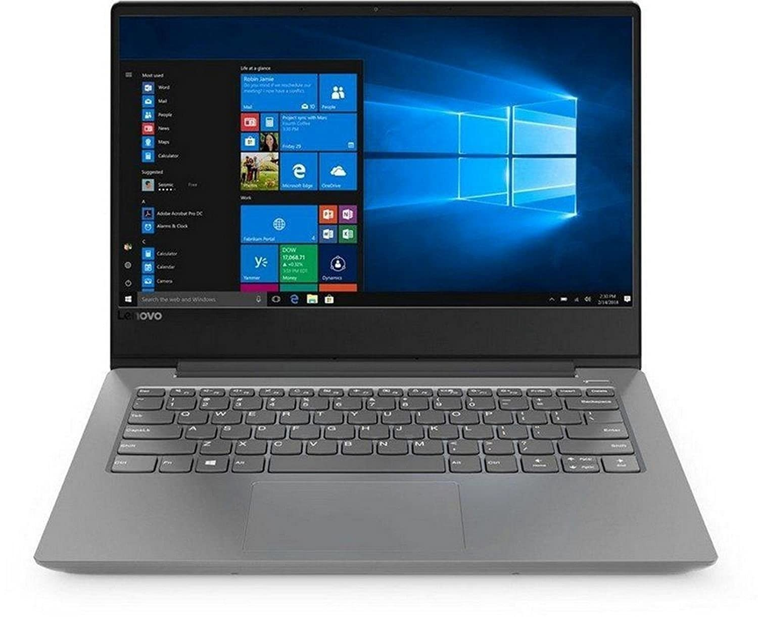 Refurbished laptops & desktops - Lenovo Ideapad 330S AMD A9 14-inch Thin and Light Laptop (4GB/1TB HDD/Windows 10 Home/Platinum Grey/ 1.6kg), 81F8001GIN