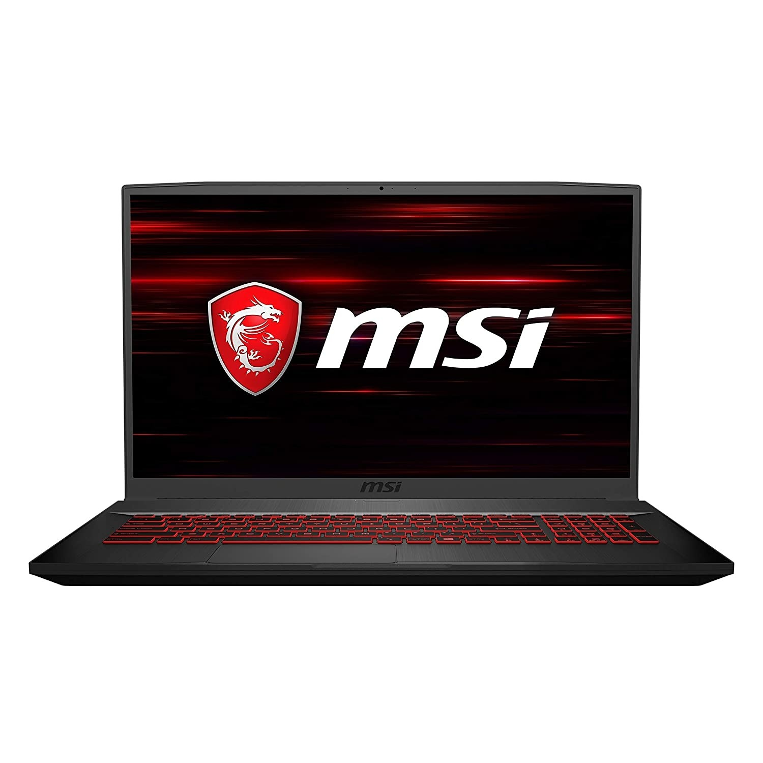 Refurbished laptops & desktops - MSI GF75 Thin 8RD-076IN 2019 17.3-inch Gaming Laptop (8th Gen Core i7-8750H/8GB/128GB NVMe M.2 SSD/1TB/Windows 10 Home/4GB Graphics/2.2 Kg), Black