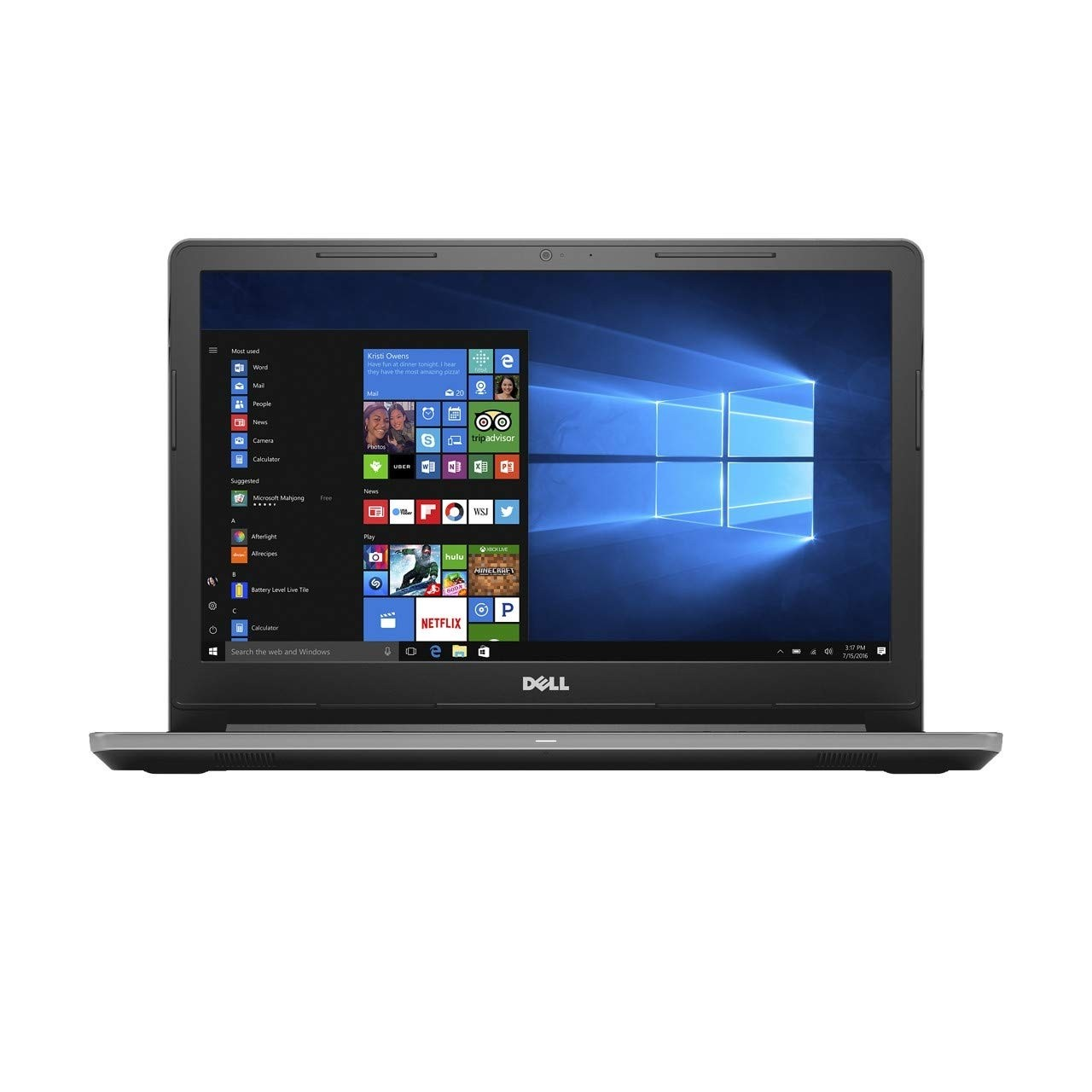 Refurbished laptops & desktops - Dell Vostro 15 3000 Core I3 6Th Gen - (4 GB/1 TB HDD/Windows 10 Home) 3568 Laptop