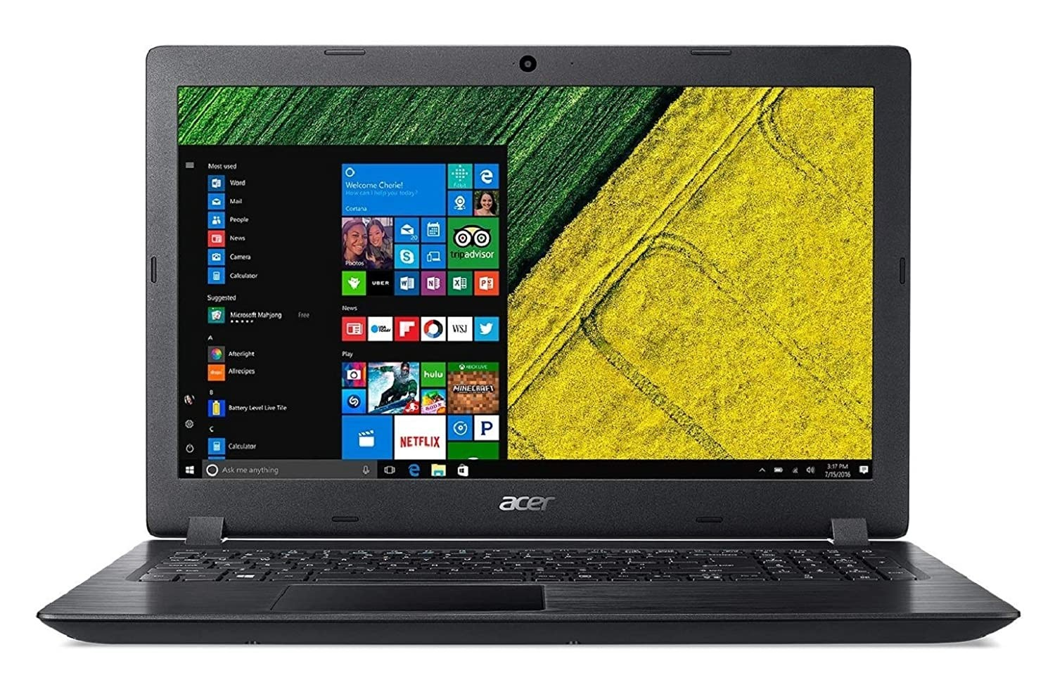 Refurbished laptops & desktops - Acer Aspire A315-21 15.6-inch Laptop (AMD A-Series Dual-Core A6-9220/4GB/1TB/Windows 10 Home/Integrated Graphics)