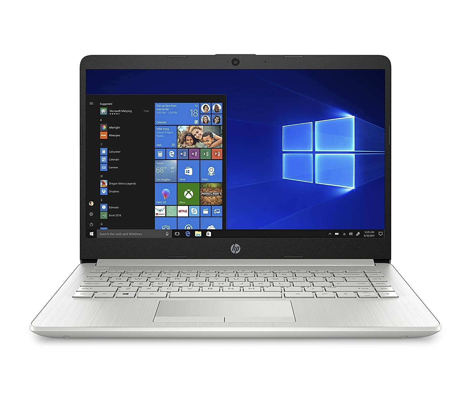 Refurbished laptops & desktops - HP 14 Laptop (Ryzen 5 3500U/8GB/1TB HDD + 256GB SSD/Win 10/Radeon Vega 8 Graphics), DK0093AU