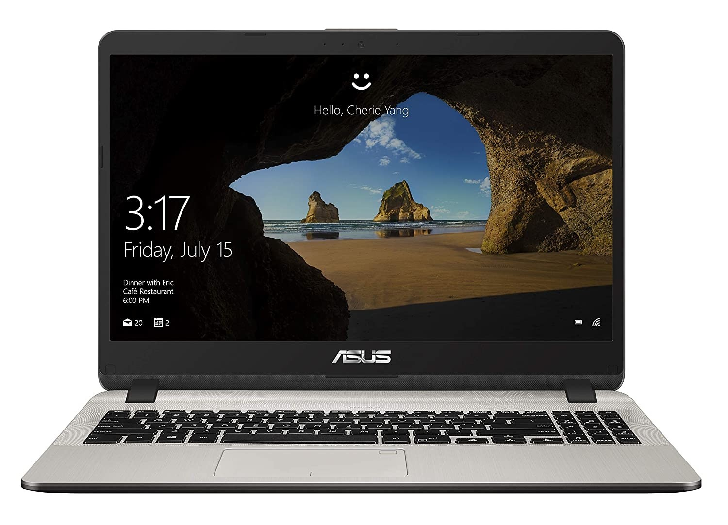 Refurbished laptops & desktops - Asus Vivobook X507Uf-Ej300T Intel Core I5 8TH Gen 15.6-Inch FHD Thin And Light Laptop (8GB RAM/1TB HDD/Windows 10/2GB Nvidia Geforce MX130 Graphics/FP Reader/1.68 Kg), Icicle Gold