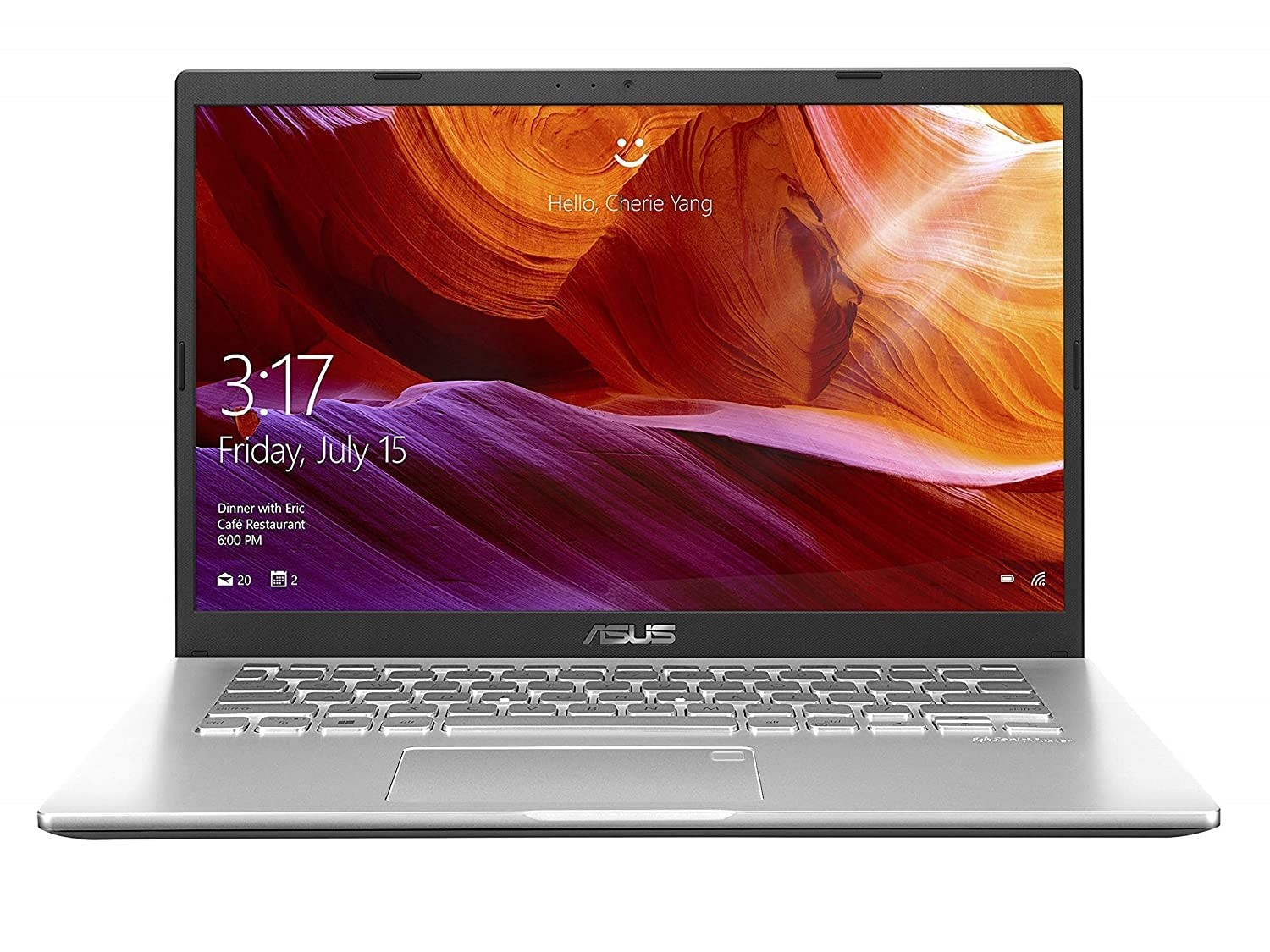Refurbished laptops & desktops - ASUS VIVOBOOK 14 INTEL CORE I5-1035G1 10TH GEN 14-INCH FHD COMPACT AND LIGHT LAPTOP (8GB RAM/1TB HDD/WINDOWS 10/INTEGRATED GRAPHICS/TRANSPARENT SILVER/1.60 KG), X409JA-EK581T