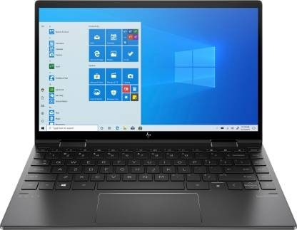 Refurbished laptops & desktops - HP Envy X360 13-Ay0044Au 13.3-Inch Laptop (3RD Gen Ryzen 5 4500U/8GB/256GB SSD/Windows 10 Home/Integrated Graphics), Night Fall Black