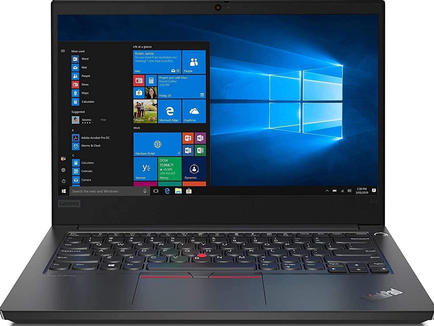Refurbished laptops & desktops - Lenovo Thinkpad E14 Intel Core I5 10TH Gen 14-Inch Full HD Ips Thin And Light Laptop (8GB RAM/ 1TB HDD + 128GB SSD/ Windows 10 Home/ Black/ 1.69Kg), 20Ras0W500