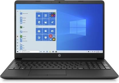 Refurbished laptops & desktops - HP 15S Du2078Tu 15.6-Inch Laptop (10TH Gen I5-1035G1/8GB/512GB SSD/Windows 10 Home), Jet Black
