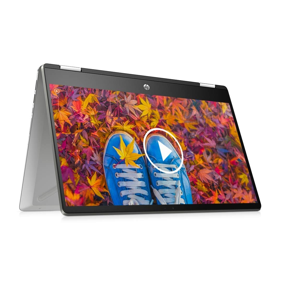 Refurbished laptops & desktops - HP Pavilion X360 Touchscreen 2-In-1 FHD 14-Inch Laptop 14-Inch Laptop (10TH Gen Core I5-10210U/8GB/512GB SSD/Win 10/Mineral Silver/1.58 Kg), 14-Dh1179Tu