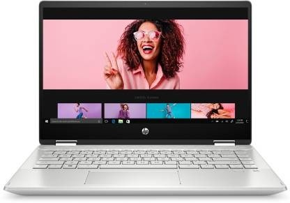 Refurbished laptops & desktops - HP Pavilion X360 14-Inch FHD Touchscreen Convertible Laptop With 4G Lte (Intel Core I5-1135G7/8GB/512GB SSD/Win 10/Natural Silver), 14-Dw1039Tu
