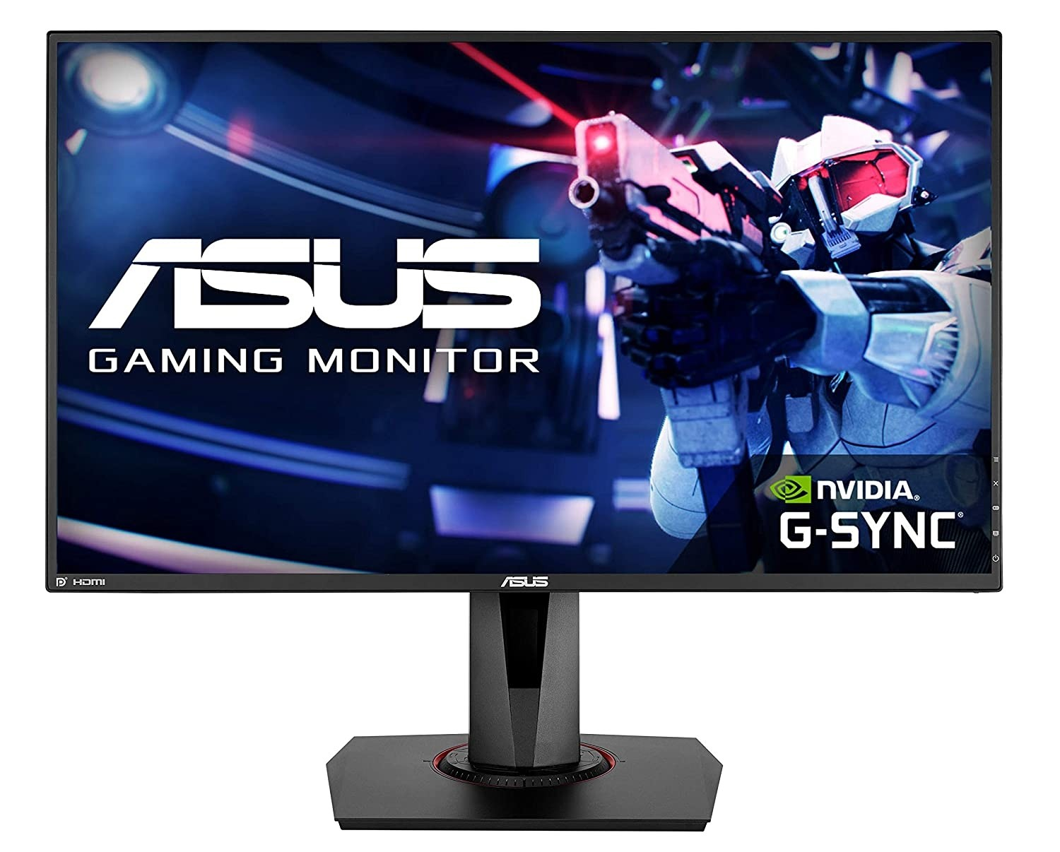 """Refurbished laptops & desktops - ASUS VG278QR, 27"""" FULL HD (1920X1080) NVIDIA G-SYNC COMPATIBLE ESPORTS GAMING MONITOR, 0.5MS, UP TO 165 HZ, DP, HDMI, DVI, FREESYNC, LOW BLUE LIGHT, FLICKER FREE, TUV CERTIFIED"""
