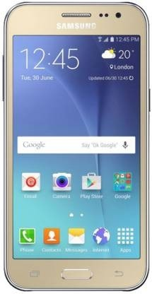Refurbished laptops & desktops - SAMSUNG GALAXY J2 (GOLD, 1GB RAM, 8GB STORAGE) (NO ACCESSORIES)
