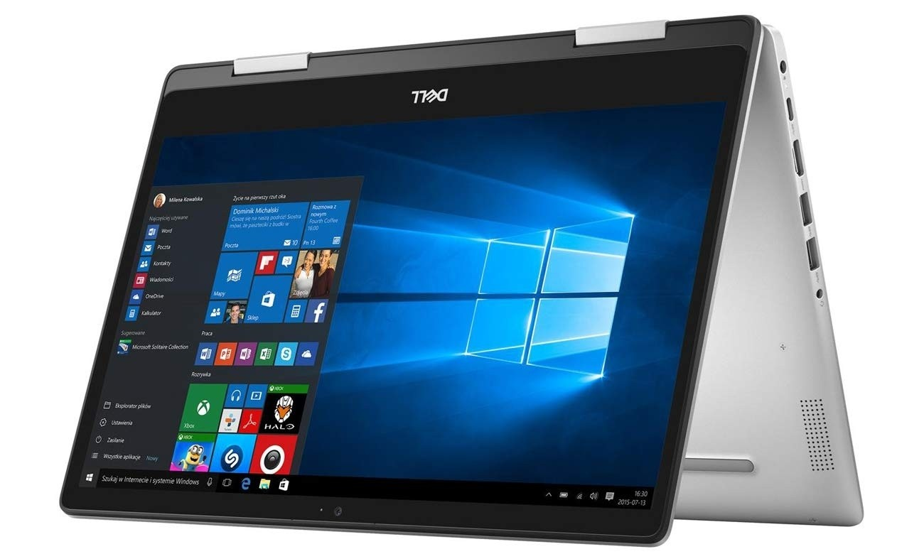 Refurbished laptops & desktops - Refurbished Dell Inspiron 14-5482-2-In-1/Intel Core 8TH Gen i3-8145U/14 Inch FHD touch/1TB/4GB/Intel UHD Graphics/Win 10 Home/Platinum Silver
