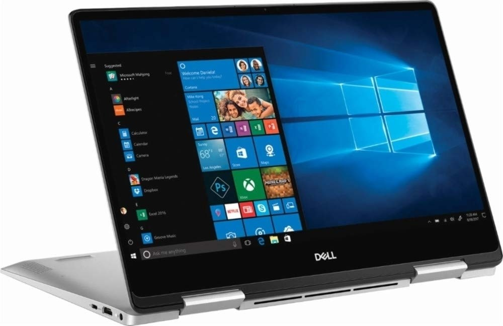 Refurbished laptops & desktops - Refurbished Dell Inspiron 13 2-In-1 7386/Intel Core 8TH Gen i5-8265U/13.3 Inch FHD Touch/256GB SSD/8GB/Intel UHD Graphics/Win 10 Home/Platinum Silver