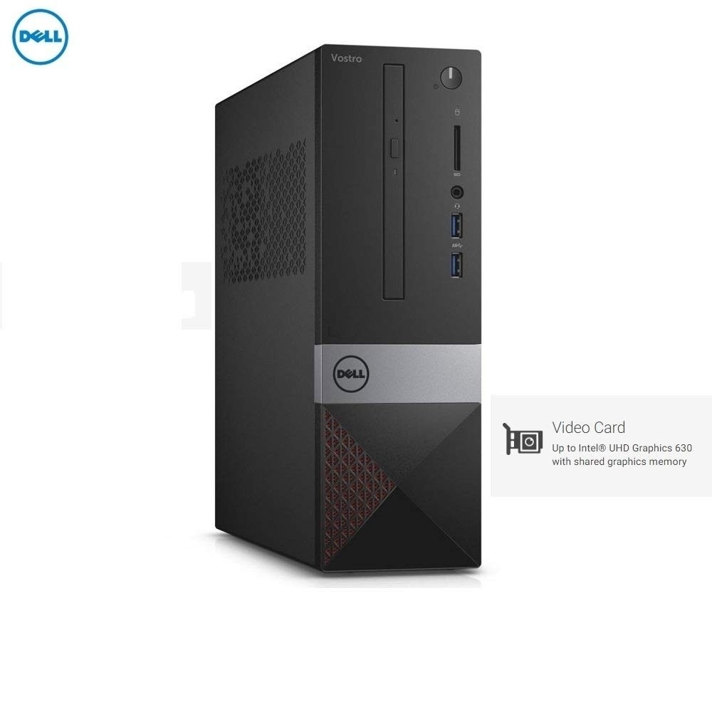 Refurbished laptops & desktops - Refurbished Dell Vostro-Dt-3471/Intel Core 9TH Gen i3-9100/Display Not Included/1TB/4GB/Integrated Graphics/Win 10 Home/Default