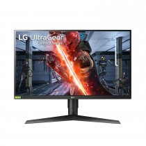 Refurbished laptops & desktops - LG ELECTRONICS ULTRAGEAR 27GN750-B 27 INCH FULL HD 1MS AND 240HZ MONITOR WITH G-SYNC COMPATIBILITY AND TILT, HEIGHT AND PIVOT ADJUSTABLE STAND,BLACK