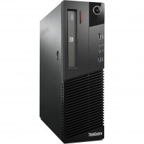 Refurbished laptops & desktops - REFURBISHED LENOVO THINKCENTRE M83 SFF (CORE I3 4TH GEN/4GB/320GB/DOS)