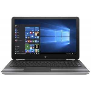Refurbished laptops & desktops Part No. Z4Q43PAR - HP 15-AU624TX 2017 15.6-inch Laptop (Core i5/4GB/1TB/Windows 10 Home/Integrated Graphics), Silver