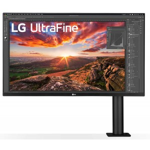 Refurbished laptops & desktops LG ULTRAFINE DISPLAY ERGO 32 INCH 4K-UHD (3840 X 2160) HDR 10, DCI-P3 90%, INBUILT SPEAKER (5W X 2), TILT/HEIGHT/SWIVEL/PIVOT/EXTEND/RETRACT, DISPLAY