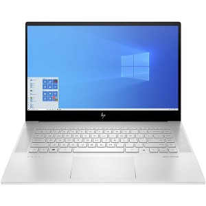 Refurbished laptops & desktops HP Envy 15-ep0123TX 15.6-inch Laptop (10th Gen i7-10750H/16GB/1TB SSD/Windows 10 Home/NVIDIA 1660Ti 6 GB Graphics), Natural Silver