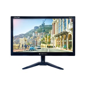 Refurbished laptops & desktops Zebronics 18.5 (46.9cm) Monitor with HDMI and VGA Port (Black)