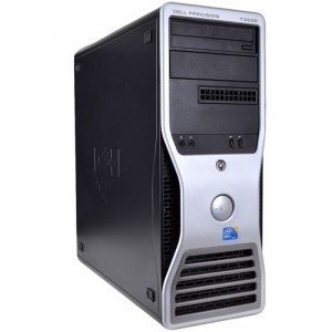 DELL PRECISION WORKSTATION T3500 (INTEL XEON W3505/8GB/500GB/DOS)