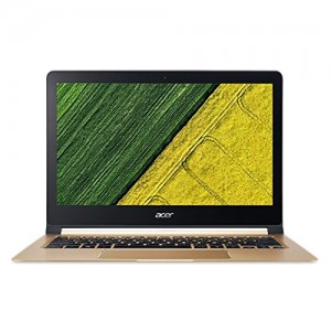 Refurbished laptops & desktops Acer Swift 7 Core I5 7TH Gen - (8 GB/256 GB SSD/Windows 10 Home) SF713-51 Thin And Light Laptop