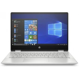 Refurbished laptops & desktops HP PAVILION X360 TOUCHSCREEN 2-IN-1 FHD 14-INCH LAPTOP (10TH GEN CORE I3-10110U/8GB/512GB SSD/WIN 10/MINERAL SILVER/1.58 KG), 14-DH1178TU