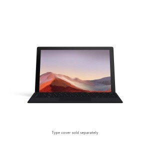 Refurbished laptops & desktops Microsoft Surface Pro 7 Vnx-00028 12.3 Inch Touchscreen 2-In-1 Laptop (10TH Gen Intel Core I7/16GB/256GB SSD/Windows 10 Home/Intel Iris Plus Graphics), Black