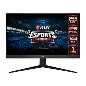 "Refurbished laptops & desktops MSI OPTIX G241-24 INCH IPS GAMING MONITOR €"" FULL HD - 144HZ REFRESH RATE - 1MS RESPONSE TIME €"" AMD FREEYNC FOR ESPORTS"