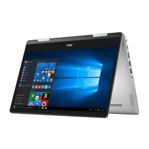 Refurbished laptops & desktops Refurbished Dell Inspiron 14-5482-2-In-1/Intel Core 8TH Gen i3-8145U/14 Inch FHD touch/1TB/4GB/Intel UHD Graphics/Win 10 Home/Platinum Silver