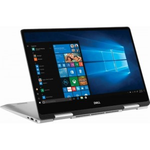 Refurbished laptops & desktops Refurbished Dell Inspiron 13 2-In-1 7386/Intel Core 8TH Gen i5-8265U/13.3 Inch FHD Touch/256GB SSD/8GB/Intel UHD Graphics/Win 10 Home/Platinum Silver