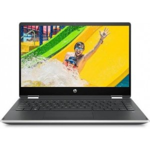 Refurbished laptops & desktops Part No. 6ZF27PAR - HP Pavilion x360 core i3 8th gen 14-inch Touchscreen 2-in-1 Thin and Light FHD Laptop (4GB/256GB SSD/Windows 10/Inking Pen/Natural Silver/1.59 kg), 14-dh0101TU